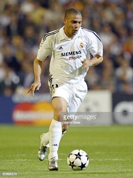 Champions League 02/03 Viertelfinale Madrid Real Madrid Manchester United 31 RONALDO/Madrid