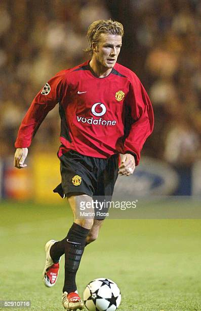 Champions League 02/03 Viertelfinale Madrid Real Madrid Manchester United 31 David BECKHAM/Manchester