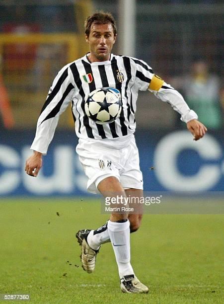 Champions League 03/04 Dortmund Galatasaray Istanbul Juventus Turin 20 Antonio CONTE/Juventus