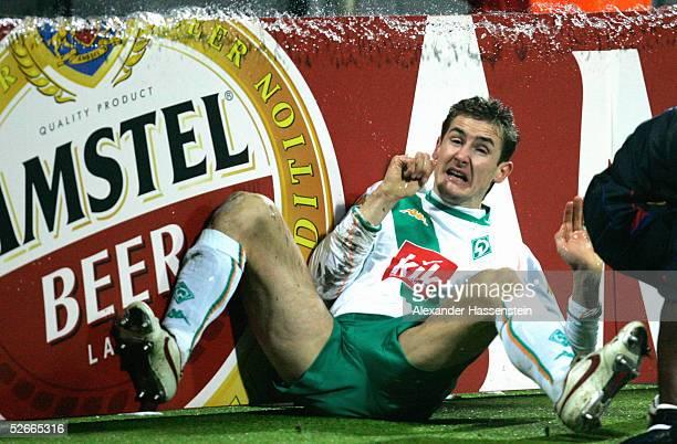 Champions League 04/05 Bremen 230205 SV Werder Bremen Olympique Lyon Miroslav KLOSE/Bremen