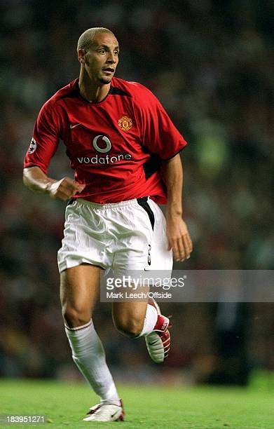 Champions League qualifying match Manchester United v Zalaegerszeg Rio Ferdinand