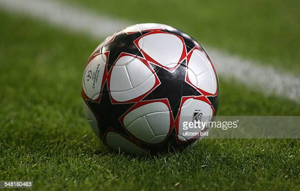 UEFA Champions League season 20092010 ball on the pitch