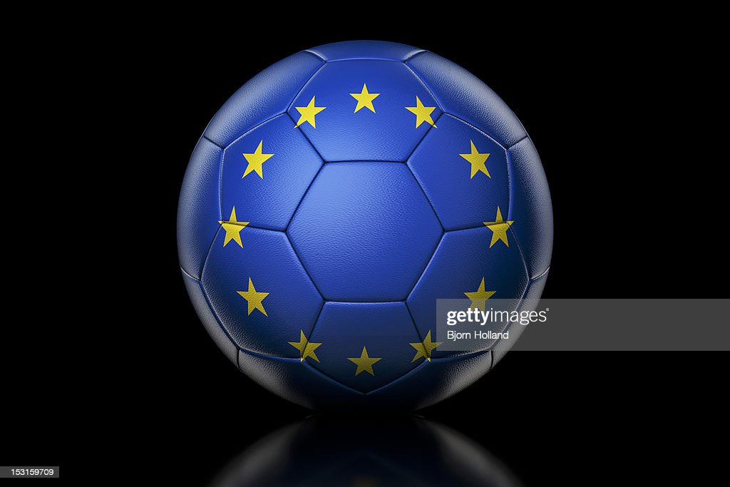 Champions League Soccer Ball : Stock Photo