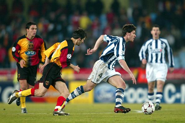 UEFA Champions League Soccer : Real Sociedad v Galatasaray : News Photo