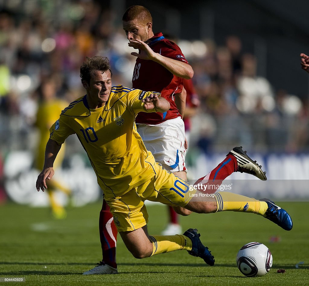 18:00 UEFA U21 Championship Czech Republic - Ukraine : News Photo