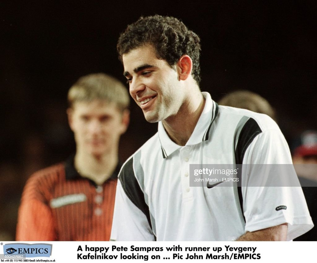 Tennis ATP Tour Championship Hanover Germany Pete Sampras v