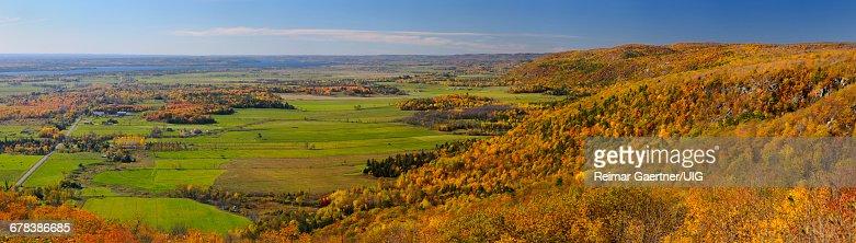 Champlain Lookout Panorama