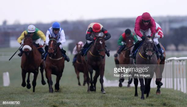Champoleon ridden by Nina Carberry wins The Go Racing In Kildare Flat Race during Slaney Hurdle Day at Naas Racecourse Naas Ireland