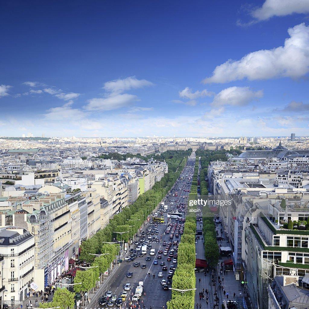 'Champs Elysees, Paris'
