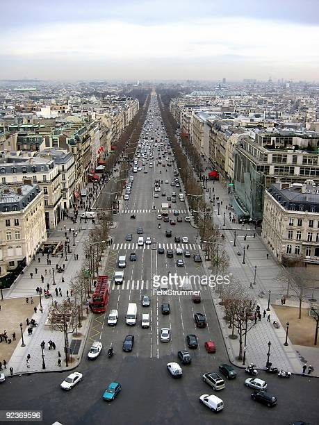 Champs-Élysées, à Paris