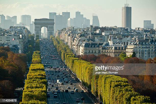 'Champs Elysées' seen of top