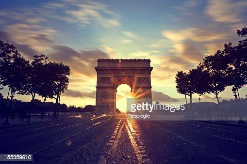 Champs-Elysees, Arc de Triomphe