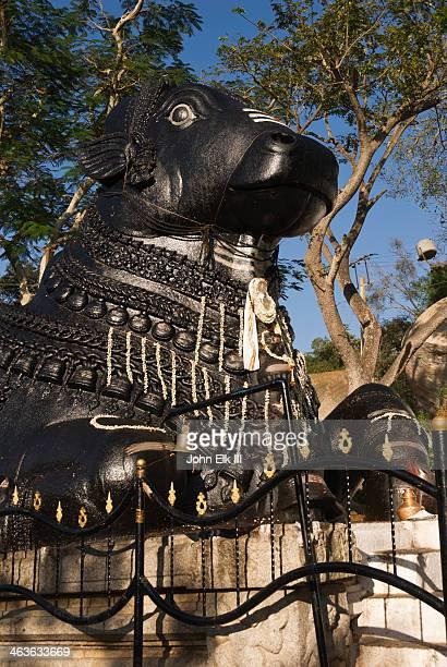 Chamundi Hill Nandi statue