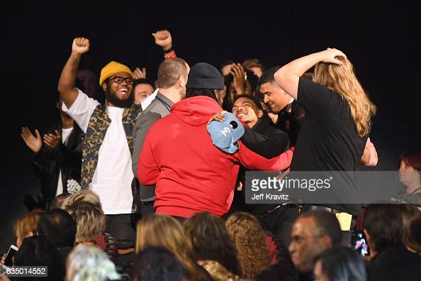 Chance the Rapper accepts the award for Best Rap Performance onstage at the Premiere Ceremony during the 59th GRAMMY Awards at Microsoft Theater on...
