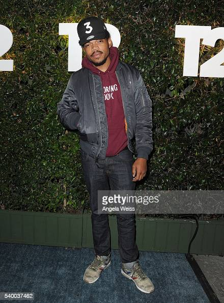 Chance The Rapper arrives at TakeTwo's Annual E3 Kickoff Party at Cecconi's Restaurant on June 13 2016 in Los Angeles California