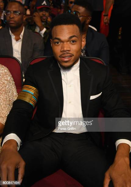 Chance The Rapper at 2017 BET Awards at Microsoft Theater on June 25 2017 in Los Angeles California