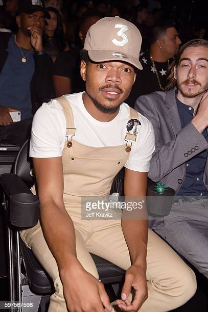 Chance the Rapper attends during the 2016 MTV Video Music Awards at Madison Square Garden on August 28 2016 in New York City