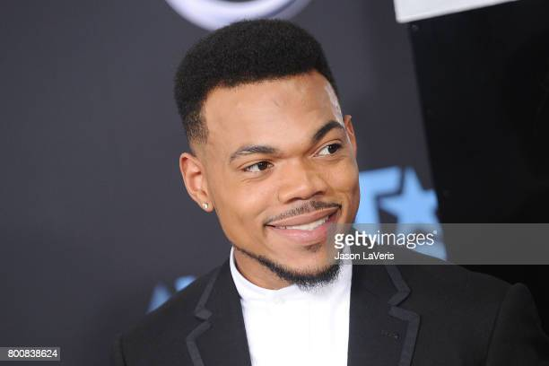 Chance The Rapper attends the 2017 BET Awards at Microsoft Theater on June 25 2017 in Los Angeles California