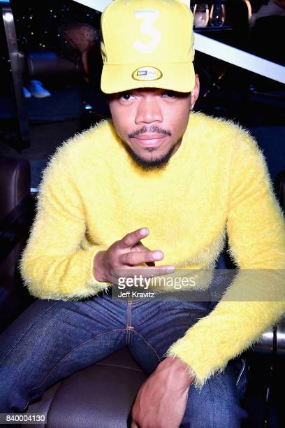 Chance The Rapper attends the 2017 MTV Video Music Awards at The Forum on August 27 2017 in Inglewood California