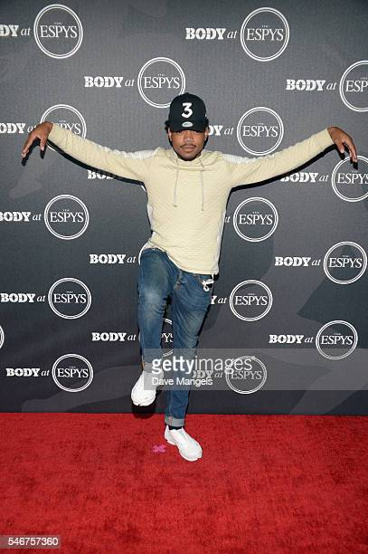 Chance The Rapper attends the BODY At The ESPYs preparty at Avalon Hollywood on July 12 2016 in Los Angeles California
