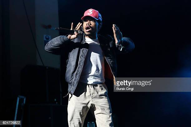 Chance The Rapper performs at Brixton Academy on November 20 2016 in London England