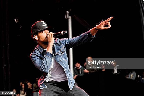 Chance the Rapper performs during The Meadows Music Arts Festival 2016 at Citi Field on October 2 2016 in New York City
