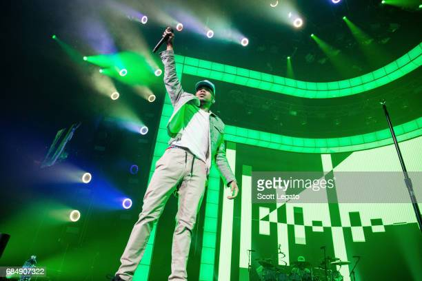 Chance The Rapper performs in support of his Be Encouraged Tour 2017 at The Palace of Auburn Hills on May 18 2017 in Auburn Hills Michigan