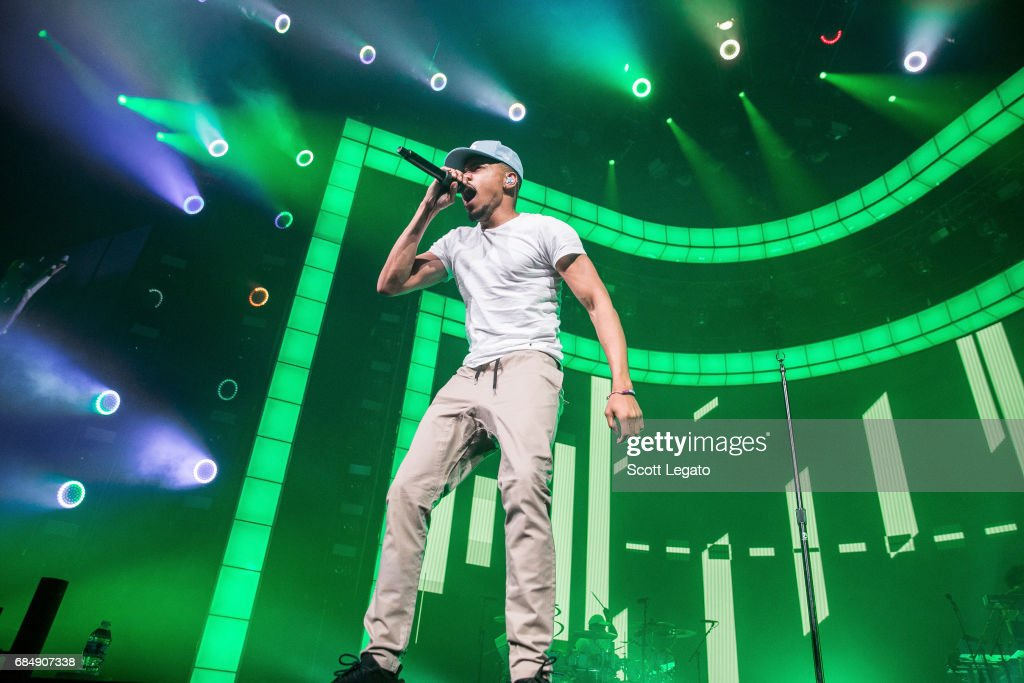 Chance The Rapper performs in support of his Be Encouraged Tour 2017 at The Palace of Auburn Hills on May 18, 2017 in Auburn Hills, Michigan.