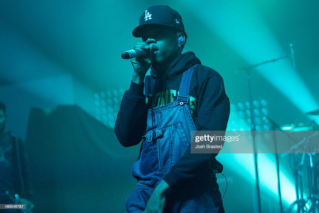 Chance the Rapper performs onstage during the 2014 BUKU Music + Art Project at Mardi Gras World on March 21, 2014 in New Orleans, Louisiana.