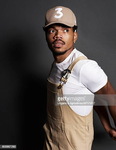 Chance the Rapper poses for a portrait at the 2016 MTV Video Music Awards at Madison Square Garden on August 28 2016 in New York City