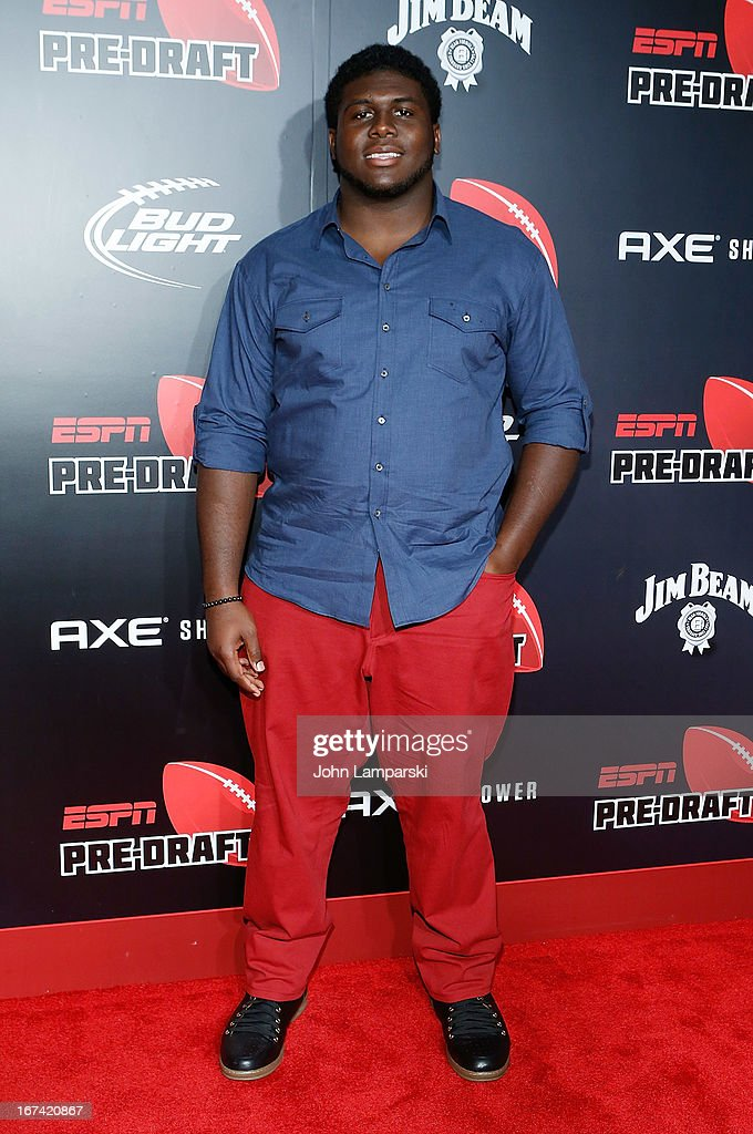 Chance Warmack attends the 10th Annual ESPN The Magazine Pre-Draft Party at The IAC Building on April 24, 2013 in New York City.