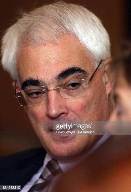 Chancellor Alistair Darling speaking at the new Regional Economic Council inside the Department for Business Enterprise and Regulatory Reform offices...