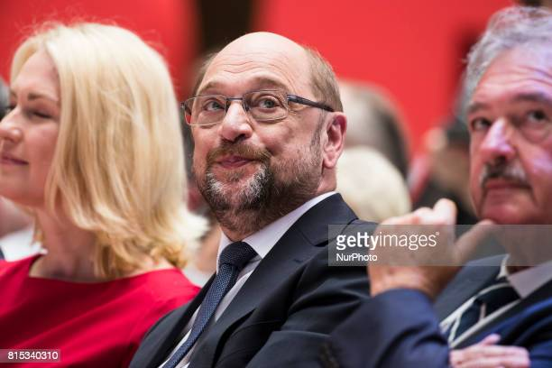 Chancellor Candidate and Chairman of the Social Democratic Party Martin Schulz during the event 'Zukunft Gerechtigkeit Europa' at the SPD...