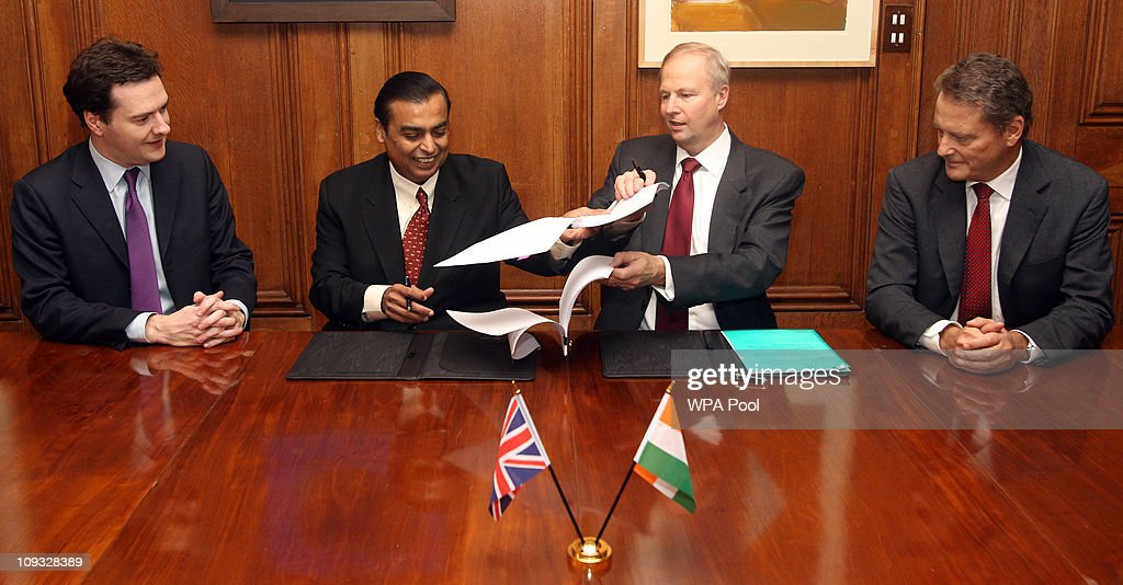 BP Announce New Partnership With Reliance Industries
