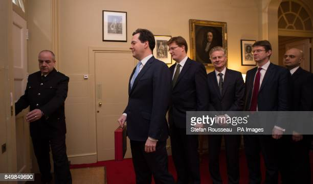 Chancellor of the Exchequer George Osborne and his treasury team Chief Secretary to the Treasury Danny Alexander Commercial Secretary to the Treasury...