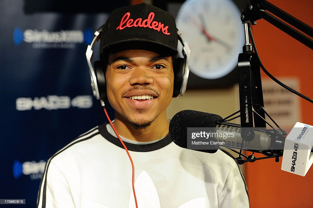 Chancelor Bennett Aka Chance The Rapper visits 'Sway in the Morning' on Eminem's Shade 45 channel in the SiriusXM Studios on June 19, 2013 in New York City.
