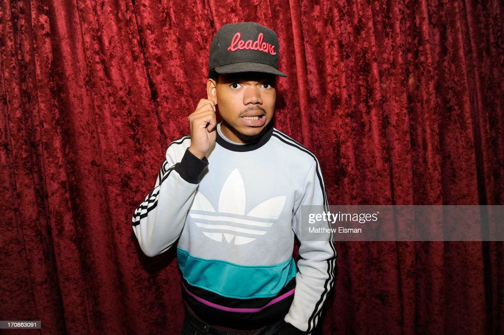 Chancelor Bennett Aka Chance The Rapper visits the SiriusXM Studios on June 19, 2013 in New York City.