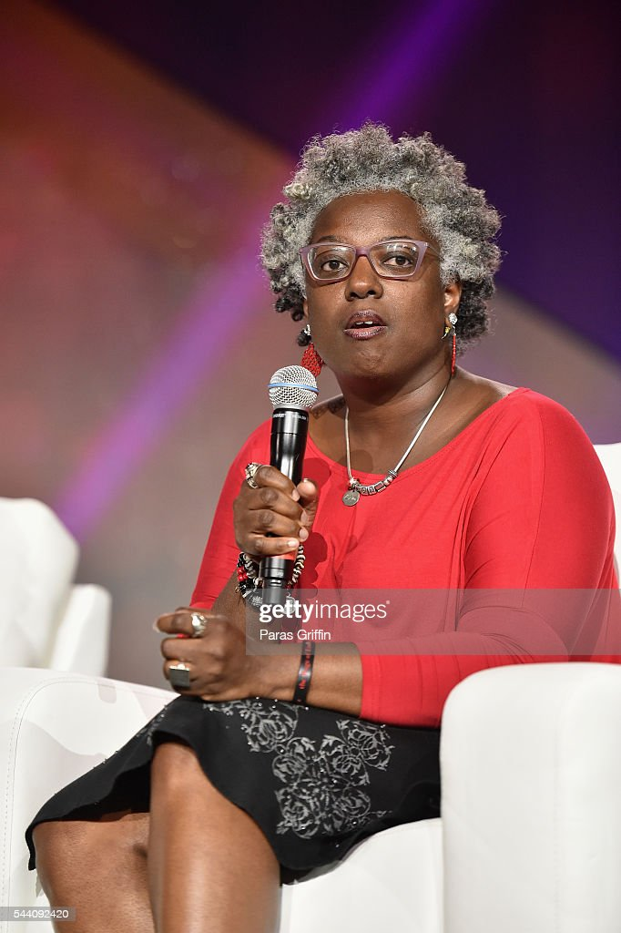Chanda J. Burks speaks onstage during the Mothers Saving Our Sons panel during the 2016 ESSENCE Festival Presented By Coca-Cola at Ernest N. Morial Convention Center on July 1, 2016 in New Orleans, Louisiana.