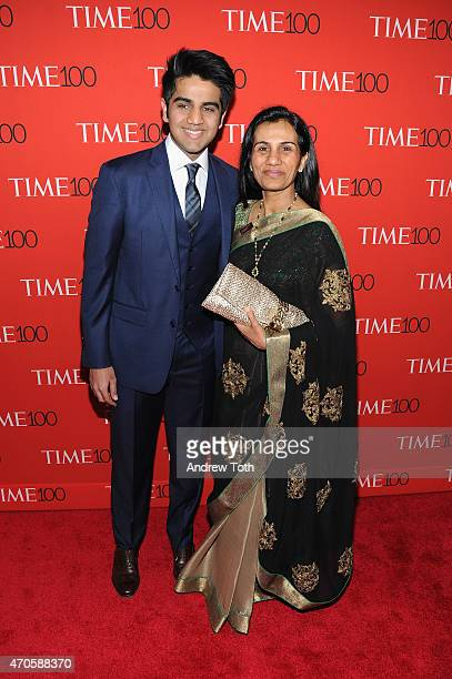 Chanda Kochhar attends the 2015 Time 100 Gala at Frederick P Rose Hall Jazz at Lincoln Center on April 21 2015 in New York City
