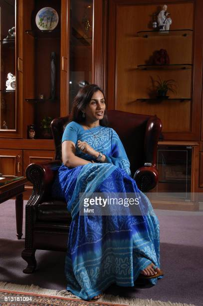 Chanda Kochhar Managing Director and CEO of ICICI Bank Ltd photographed during an interview with MINT at her office in Mumbai
