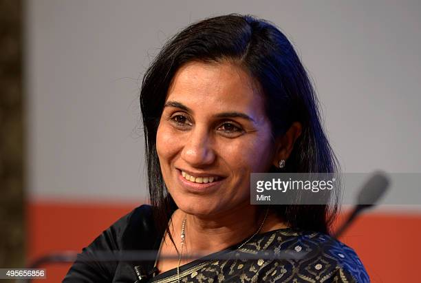 Chanda Kochhar Managing Director of ICICI Bank Ltd during MINT annual Banking Conclave on Indian Banking New Landscape on January 30 2014 in Mumbai...