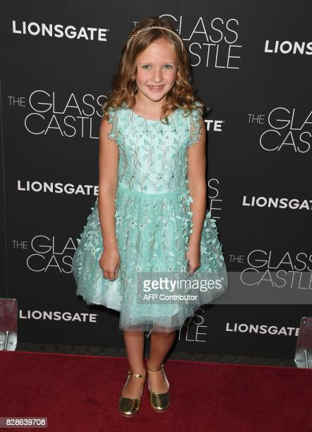 Chandler Head attends 'The Glass Castle' New York screening at SVA Theatre on August 9 2017 in New York City / AFP PHOTO / ANGELA WEISS