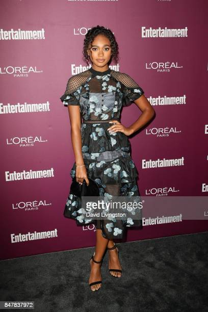 Chandler Kinney attends the Entertainment Weekly's 2017 PreEmmy Party at the Sunset Tower Hotel on September 15 2017 in West Hollywood California