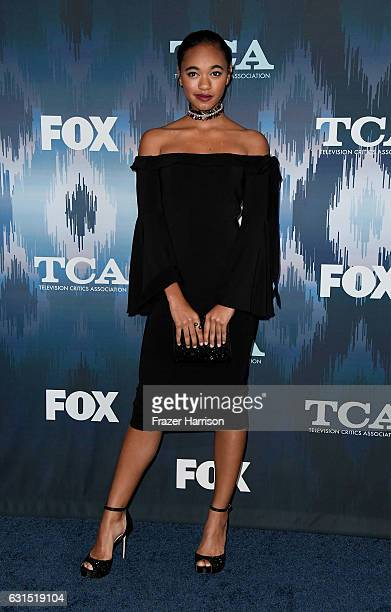 Chandler Kinney attends the FOX AllStar Party during the 2017 Winter TCA Tour at Langham Hotel on January 11 2017 in Pasadena California