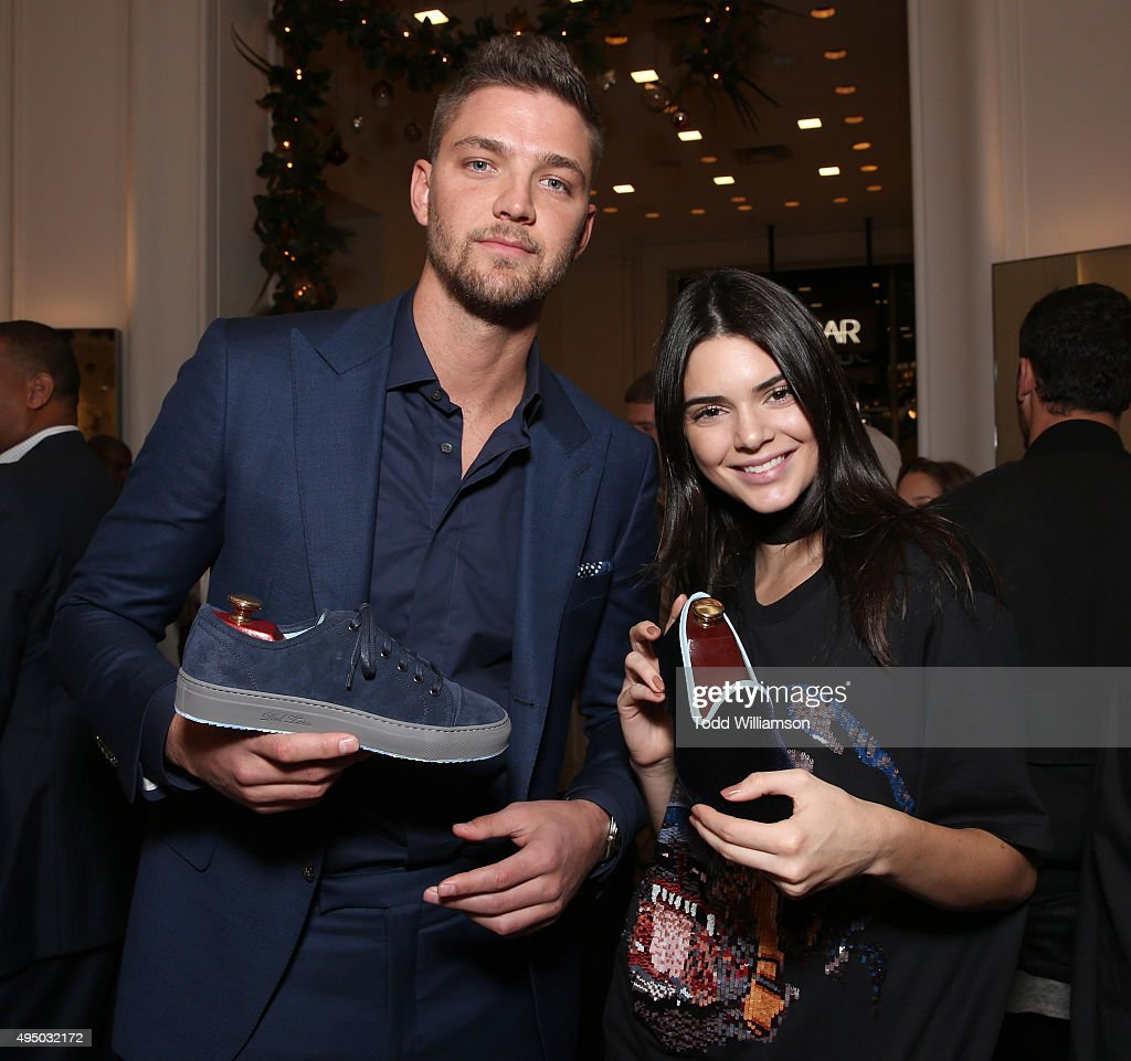 Chandler Parsons and Kendall Jenner attend a Del Toro Chandler Parsons Event at Saks Fifth Avenue Beverly Hills on October 30, 2015 in Beverly Hills, California.