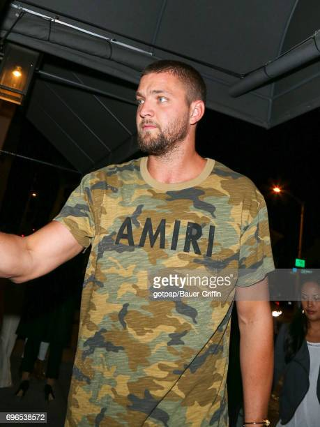 Chandler Parsons is seen on June 15 2017 in Los Angeles California