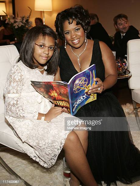 Chandra Wilson and daughter Serena*exclusive*
