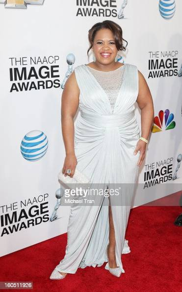 Chandra Wilson arrives at the 44th NAACP Image Awards held at The Shrine Auditorium on February 1 2013 in Los Angeles California