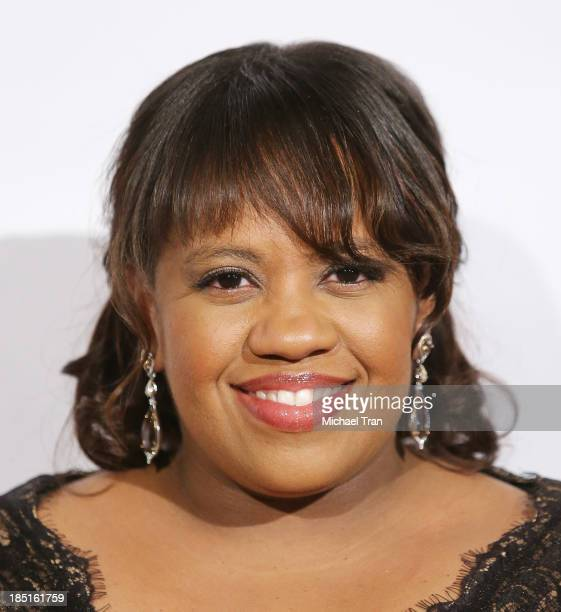 Chandra Wilson arrives at the CoachArt Gala of Champions held at The Beverly Hilton Hotel on October 17 2013 in Beverly Hills California