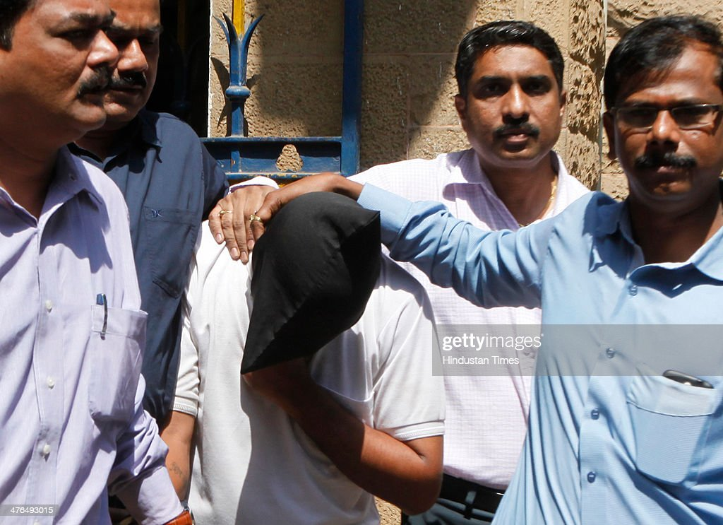 Chandrabhan Sanap, who was arrested in the killing of Hyderabad techie Esther Anuhya case, was produced in Quila Court on March 3, 2014 in Mumbai, India. Sanap was remanded to police custody till March 15. According to police Sanap resembled the man who was spotted with Esther in a CCTV footage at the Kurla railway terminus on January 5, the day Anuhya went missing. The victim's decomposed body was found off the Eastern Express Highway in suburban Bhandup on January 16.